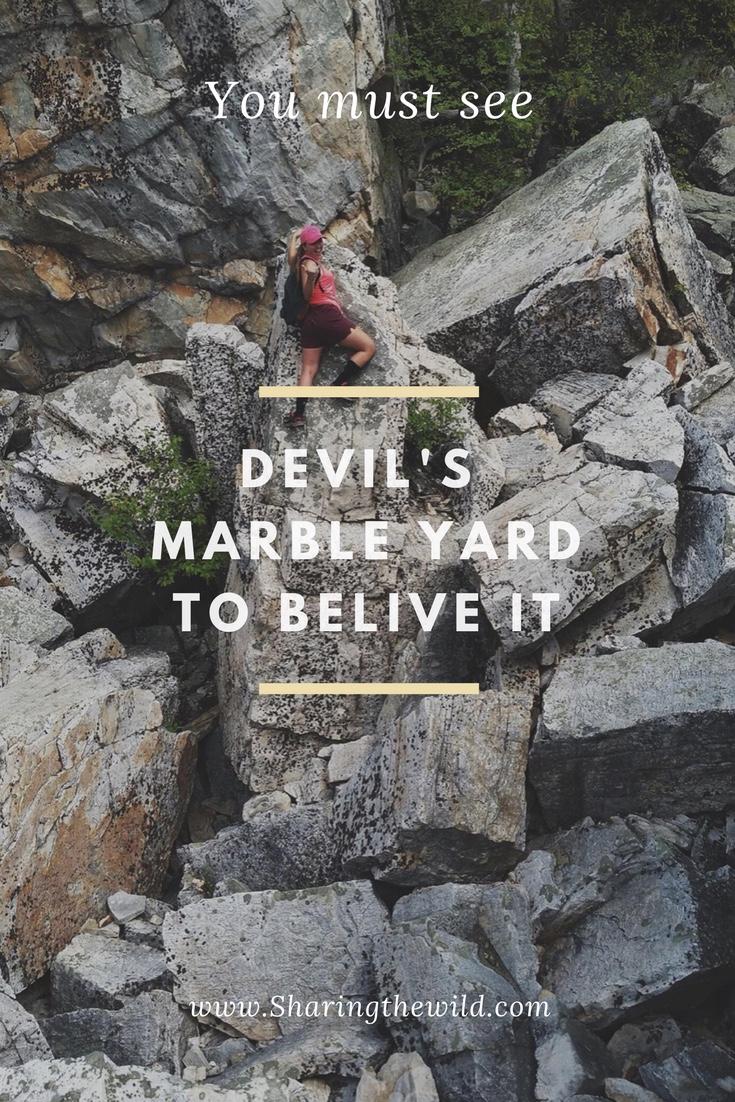 Devil's Marble Yard Pinterest Pin
