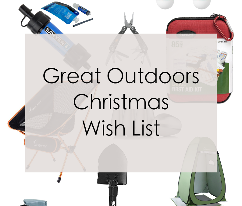 Great Outdoors Christmas Wish List