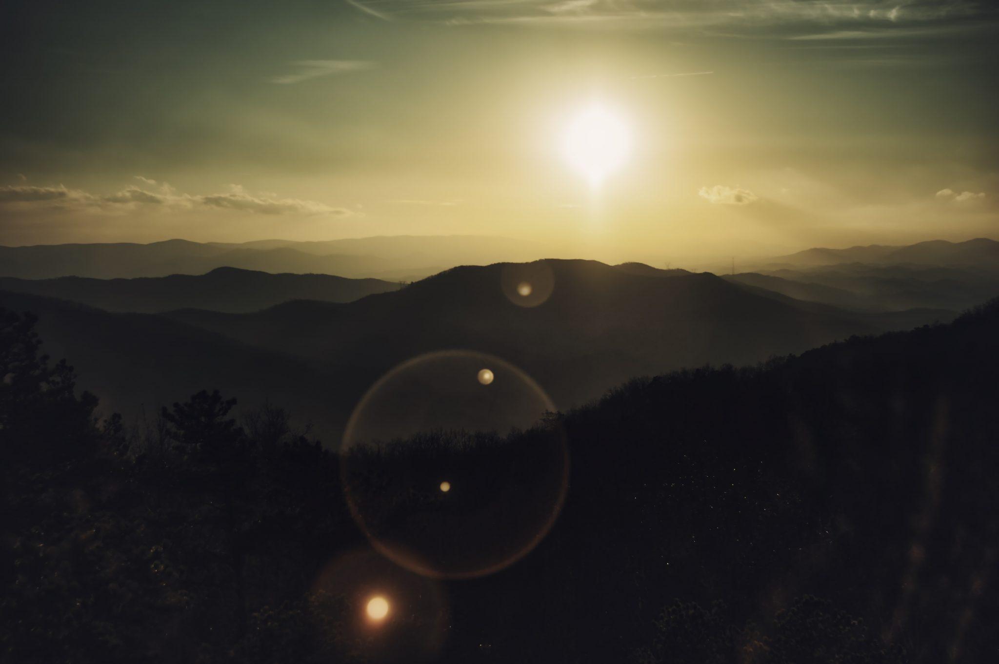 Sunset on High Rocks